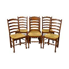 Ladder Back Chairs Rush Seats Leather Nailhead Recliner Chair Guy Chaddock Melrose Custom Handmade Fniture Cf0485s Country French Ding Chairs With Ladder Back And Rush Seats Antique Farm Carved Tall Seat Room Set Of 6 Provincial In Walnut 10 Louis Xv Style Oak Leather Nailhead Recliner Chair Vintage White Of Four Six Xiv Ladderback Scalloped Stretchers Inspire Q Eleanor Wood 2 By Dec 16 2018