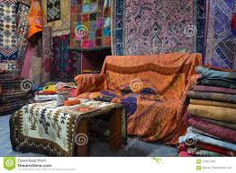 Download Turkish Carpets In Shop Stock Image Of Store