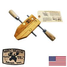 Dubuque 12 USA Handscrew Miro Moose Wood Clamp
