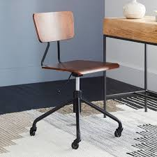 adjustable industrial office chair west elm condo