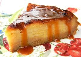 dessert assiette gourmande facile recette de gâteau invisible aux pommes et crème caramel au beurre