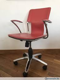 bureau habitat chaise de bureau habitat cuir a vendre 2ememain be