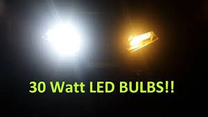 2017 polaris sportsman 850 led headlight bulbs 30 watt each
