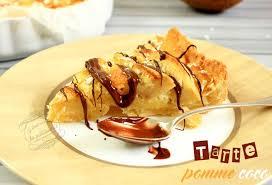 recette dessert aux pommes tarte pommes coco il était une fois la pâtisserie