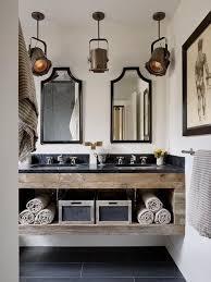Diy Industrial Bathroom Mirror by Best 25 Industrial Bathroom Ideas On Pinterest Industrial