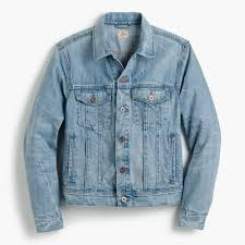 Denim Jacket In Light Wash : Men Coats & Jackets | J.Crew Wrangler Womens Sherpa Denim Jacket Boot Barn Vintage Lee 81 Lj Chore Jacket 44 R 30s 40s Barn Coat Kate Spade Saturday Lost Pocket Nordstrom Rack Jackets Coats For Women American Eagle Outfitters This Will Be Your New Favorite Fall Mens Journal Rrl Fremont In Blue Men Lyst Two Jacks Supreme Louis Vuitton X Size M Vintage 1950s Coat Iron Charlie Outerwear Walmartcom Famous Cataloger With Removable Vest