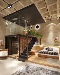 100 Modern Loft Interior Design Unique Apartment With Elevated Glass Bathroom