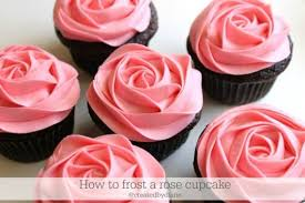 How To Frost A Rose Cupcake Createdbydiane