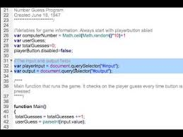 Javascript Math Ceil 0 by Javascript Number Guessing Game 2 Youtube