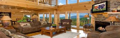 Sky View Luxury Vacation Rental Cabins in Pigeon Forge TN