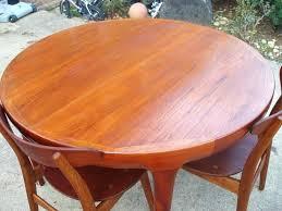 Teak Dining Room Chair Table Furniture Photo Of Good Danish