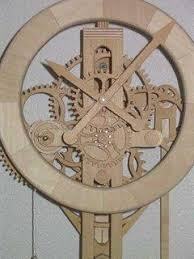 wood gear clock plans free pdf plans small woodworking projects