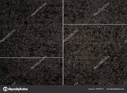 Black Stone Tile Floor Background And Texture Photo By Torsakarin