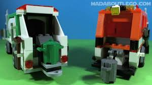LEGO GARBAGE TRUCK 4432 - YouTube