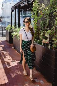 A Casual Midi Skirt For Summer