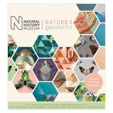 100 Natural Geometry History Museum 12 By 12 Natures Paper Pad