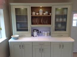 Sage Green Kitchen White Cabinets by Wren Kitchen Sage Green Kitchen Plate Rack With White Corian And