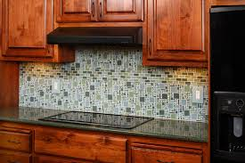 glass tiles kitchen backsplash all home design ideas