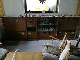wohnzimmer sideboard schrankwand halb hoch