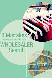 3 Mistakes Youre Making With Your Wholesaler Search