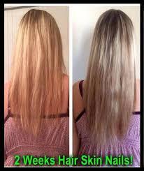 Skin Nails Grow Thicker Hair