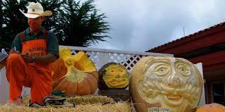 Largest Pumpkin Ever Weight by Half Moon Bay Art And Pumpkin Festival Visit California
