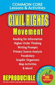 Civil Rights Movement Common Core Lessons Activities