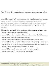 Sales Operations Manager Resume Examples It Sample Here Are