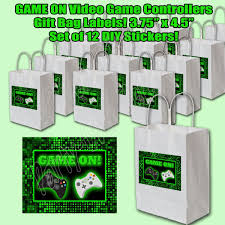 100 Video Game Truck Party Amazoncom GAME ON Stickers Controllers