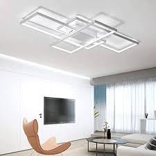 led wohnzimmerle deckenleuchte dimmbar 3000k 6500k acryl schirm fernbedienung lichtfarbe helligkeit einstellbar deckenle moderne chic