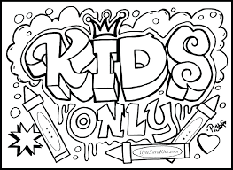 Coloring Pages For Kids Animals Teens Cool Easy Abstract Heart Teenagers Difficult Gallery Marvellous