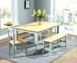 Full Size Of Oak Dinette Table Sets Dining With Bench Seating And Grey Set Benches Chairs