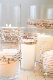 40 Chic Romantic Wedding Ideas Using Candles Rustic Candle CenterpiecesNon