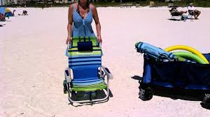 Tommy Bahama Backpack Chair Bjs by How To Close A Tommy Bahama Beach Chair Youtube