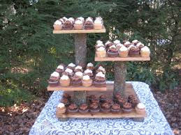 Cupcake Wedding Cake Stands Photo