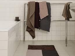 pile bathroom mat nordish living shop