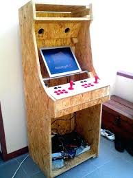 diy arcade cabinet plans guarinistore com