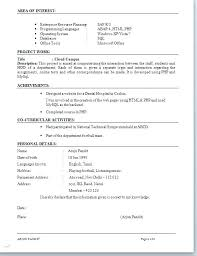 Resume Title Samples What Is A Examples Profile Example For