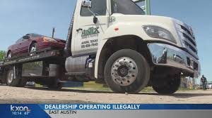 100 Tow Truck Austin East Dealership Busted For Operating Illegally