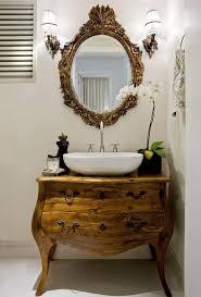 vintage kabinette in schöne badezimmer waschbecken umwandeln