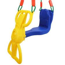 siege balancoire enfant siège chaise enfant bébé plus de 3 ans avec dossier sécurité