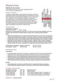 Medical Assistant Resume Example Sales Sample Free Resumes Tips