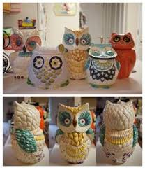 Owl Cookie Jars After Looking At Pier 1 We Think The New Kitchen Will
