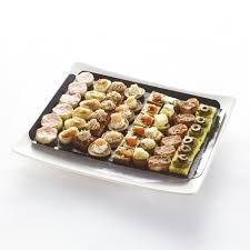 canap ap itif faciles mini canapés apéritifs salés recettes de régions plateau de 48