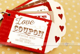 Love Coupon Book Gift Idea For Spouse