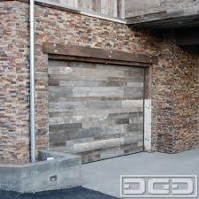 Reclaimed Wood Garage Door Manufacturer