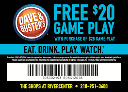Dave And Busters Halloween 2017 by Dave U0026 Buster U0027s San Antonio Rivercenter Wheretraveler