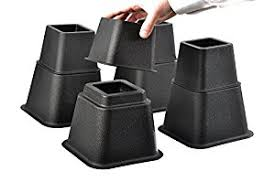Target Bed Risers by Amazon Com Home It Adjustable Bed Risers Or Furniture Riser Bed
