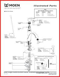 Moen Kitchen Faucet Repair Diagram Kitchen Faucet Leaking From Handle Moen Laptrinhx News