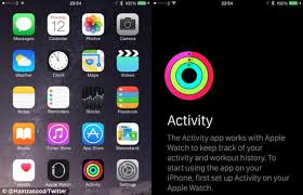 iPhone fitness app only visible when you pair an Apple Watch